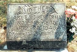 Mary Evaline <i>McKissick</i> Benderman