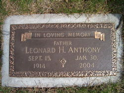 Leonard Hans Anthony