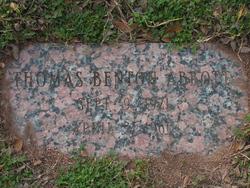 Thomas Benton Abbott