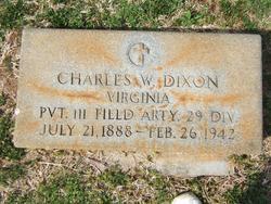 Charles W Dixon