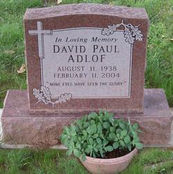 Gen David Paul Adlof