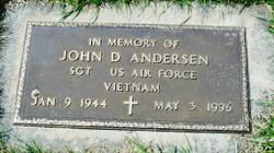 Sgt John D. Andersen
