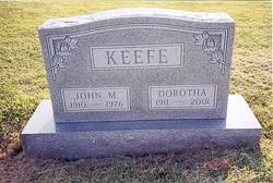 Dorotha E <i>Martinie</i> Keefe