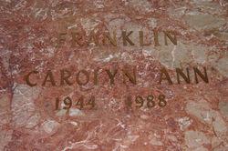 Carolyn Franklin Boxer