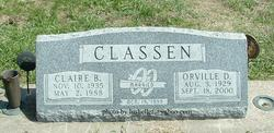 Claire B. <i>Snyder</i> Classen