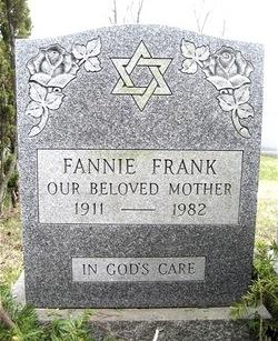 Fannie <i>Ungar</i> Frank