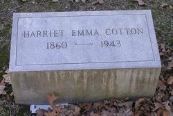 Harriet Emma Cotton