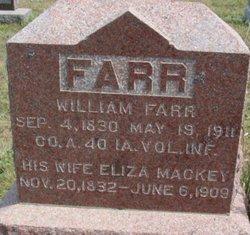 Eliza <i>Mackey</i> Farr