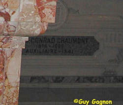 Rev Conrad Chaumont
