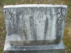 Martha Elizabeth <i>Easley</i> Allen