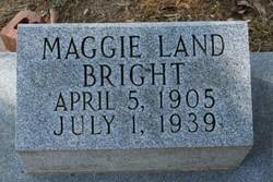 Maggie <i>Land</i> Bright