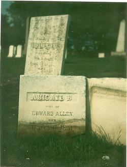 Abigail B. <i>Segar</i> Allen