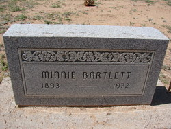 Minnie Bartlett