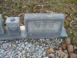 Mary Virginia <i>Simpson</i> Branstetter