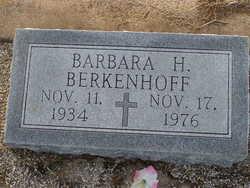 Barbara J. <i>Hassell</i> Berkenhoff