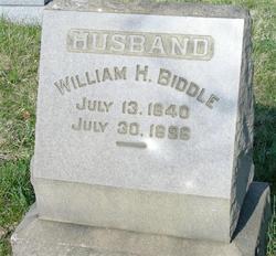 William H Biddle