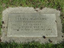Lewis W Adams