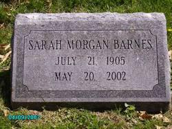Sarah Morgan Barnes