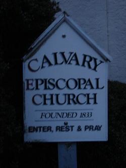 Calvary Episcopal Cemetery