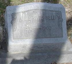 Allie Benjamin <i>Rives</i> Bell