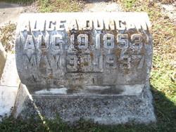 Alice Parilee <i>Andrews</i> Duncan