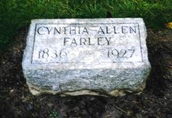 Cynthia Allen <i>Van Cleave</i> Farley