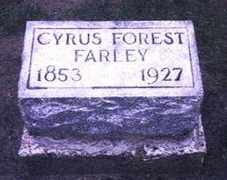 Cyrus Forrest Farley