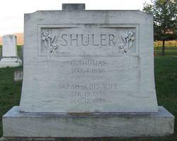 Sarah Jane <i>Foltz</i> Shuler