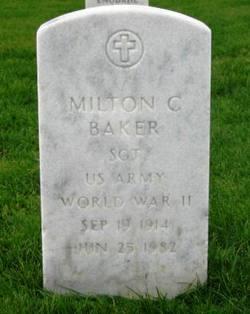 Sgt Milton C Baker