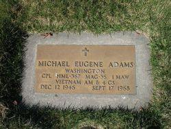 Corp Michael Eugene Adams