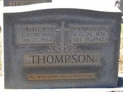 Alice LaPrad Allie <i>Kidd</i> Thompson