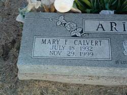 Mary Frances <i>Calvert</i> Ariola