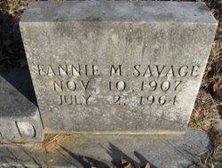 Fannie M. <i>Savage</i> Barfield