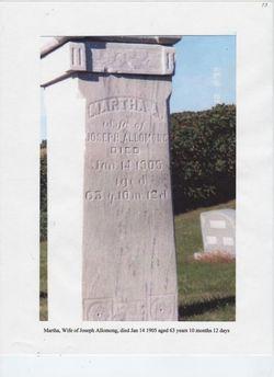 Martha Jane <i>Bell</i> Allomong