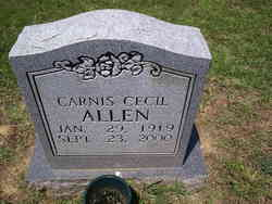 Carnis Cecil <i>Harris</i> Allen