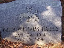 Edith <i>Williams</i> Harris