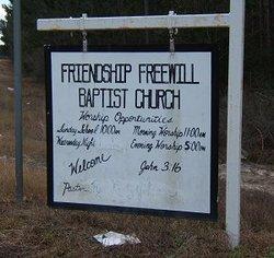 Friendship Freewill Baptist Church Cemetery