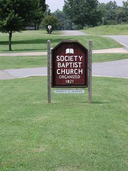 Society Baptist Church Cemetery