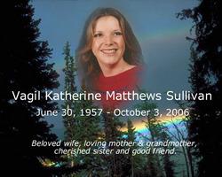 Vagil Katherine Kathy <i>Matthews</i> Sullivan