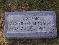 Margaret <i>Sauvain</i> Archambeau