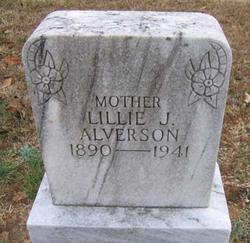 Lillie J. <i>Grayson</i> Alverson