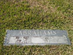 Gertrude <i>Tiahrt</i> Abrahams