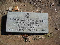 Moses Andrew White