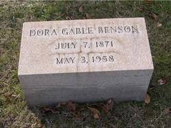 Dora <i>Gable</i> Benson