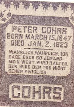 Peter Cohrs