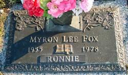 Myron Lee Ronnie Fox