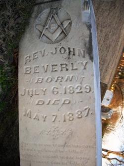 Rev John Beverly