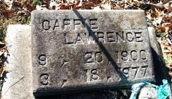 Carrie <i>Driskel</i> Lawrence