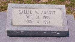 Sallie M Abbott