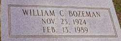 William C Bozeman